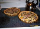 Fresh Veggie Quiche