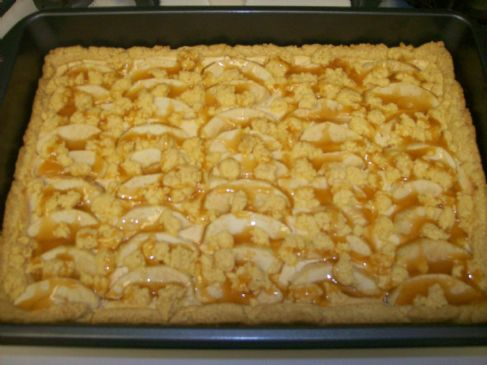 Caramel Apple Cream Cheese Bars