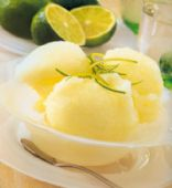 Pineapple Lime Sherbet