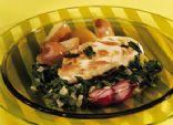 Spinach and Chicken Skillet