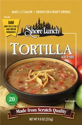 Shore Lunch Tortilla Soup w/Chicken