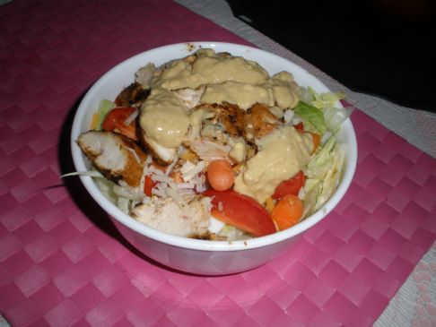 Chicken Salad, Low Fat and Cajun