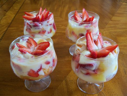 Strawberry Lemon Parfait