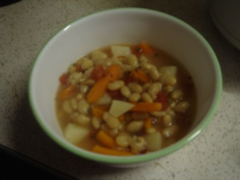 White Bean Soup (crock pot)