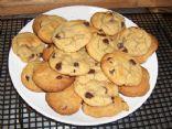 PNB & Choc Chip Cookies, gluten free!  YUM