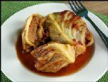 Vegetarian Stuffed Cabbage