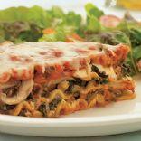 sausage mushroom and spinach lasagna