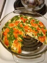 Smoked Salmon & Spinach Frittata