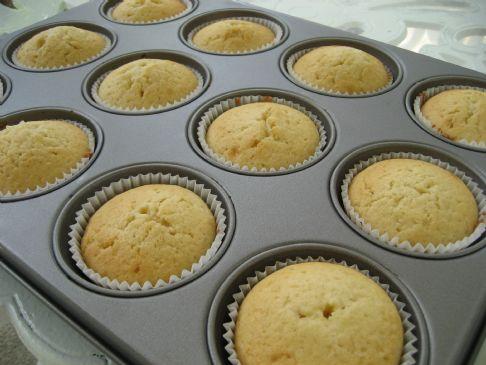 Low Fat Lemon & Lime Cupcakes