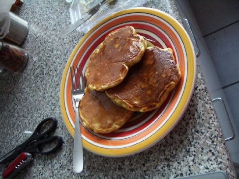 Better Peanut Butter Pancakes