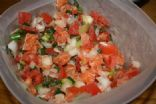 Hawaiian Lomi Lomi Salmon