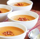 Butternut Squash & Bacon Soup