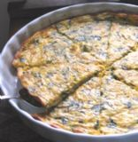 Spicy Spinach Quiche