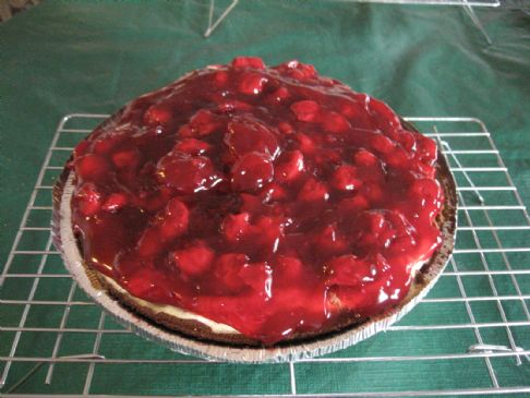 Carla's Traditional Cheesecake - Cherry