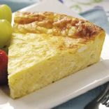 CRUSTLESS JARLSBERG QUICHE