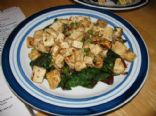 Tse Tofu - Tibetan Greens and Tofu