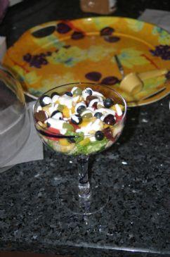 Tuna and Fresh Fruit Salad