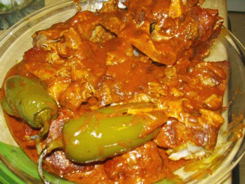 Rhea's Puerco PIBIL (slow cooked in Banana Leaves)