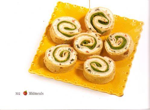 Greek Pinwheels - Eating For Life