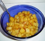 Baked Parmesan Potato Cubes
