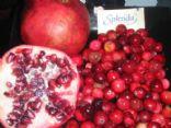 Sugar free Cranberry Pomegranate Sauce