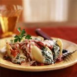 Stuffed Shells w. Spinach and Mushrooms
