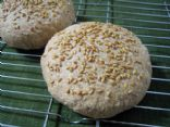 Whole Wheat Flax Burger Buns