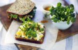 Low G.I breakfast sandwich