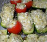 Stuffed Tomatoes & Zucchini