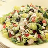 Chopped Greek Salad with Chicken from Eating Well Recipes