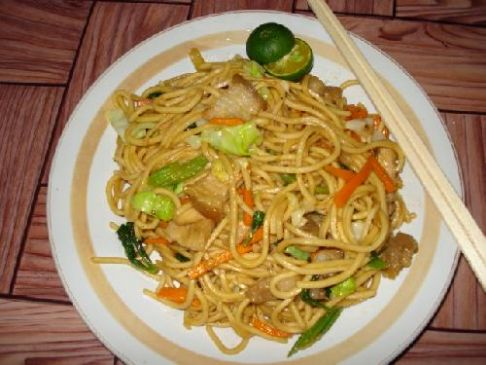 Chicken Pancit