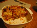 Chicken Tortilla Lasagna