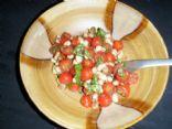 Clean  northern bean salad