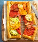 Tomato Pepper Tart