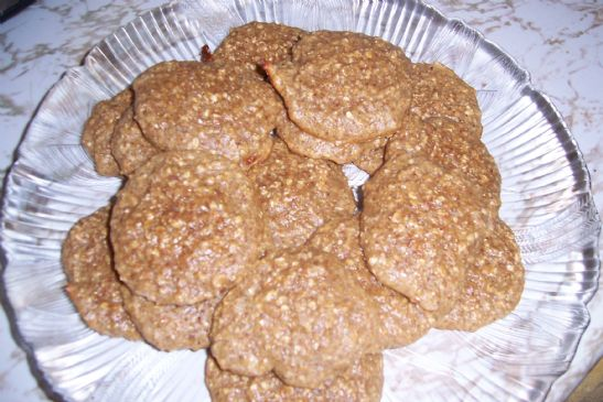 Almond Butter Protein Powder Oatmeal Cookies