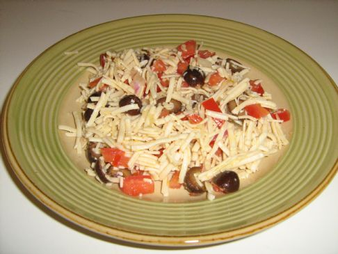 High Protein Pasta Salad