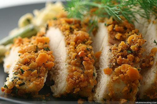 Rosemary Encrusted Chicken Breast