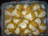 Soft Pumpkin Spice Pecan Cookies w Orange Glaze