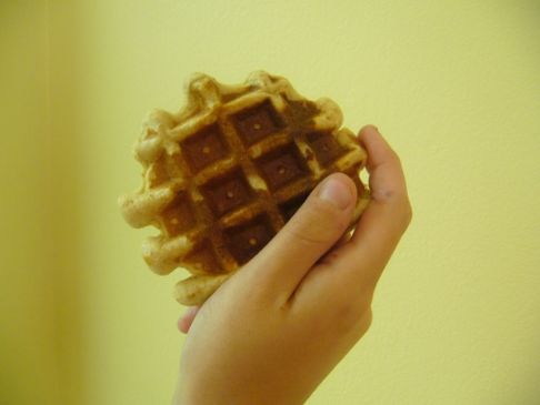 Whole-Grain High-Protein Waffles
