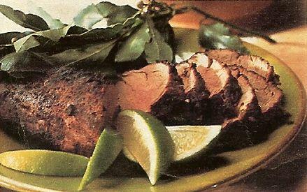 Latin Spiced Pork Tenderloin