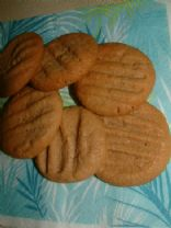 25 % less fat Peanut butter cookies