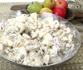 Waldorf Salad With Fresh Cherries