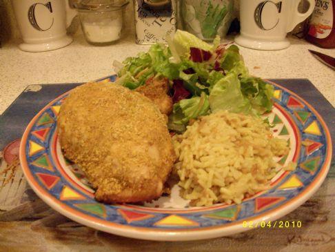 Crosstown Kickin' Oven-Fried Chicken