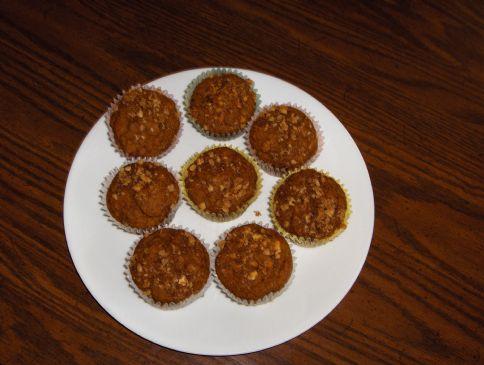 Buttermilk low-fat Pumpkin muffins