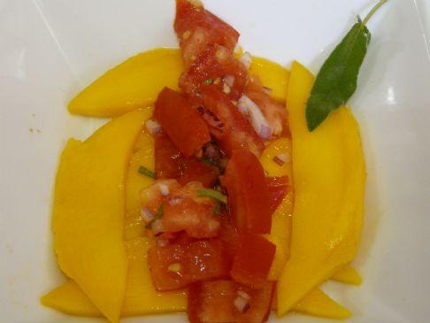 Mango Bruchetta Salad