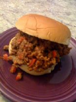 Amy O's Veggie Sloppy Joes