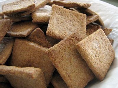 Soaked Flour Cracker Recipe