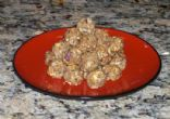 Peanut Butter and Apple Balls (All Natural & Gluten Free)