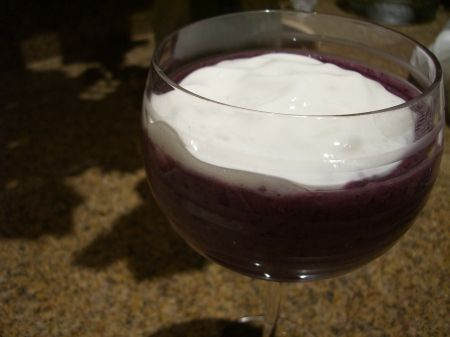 Classy Berry Smoothie (clean eating)