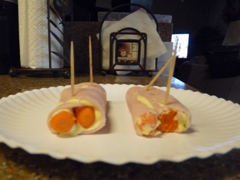 Turkey Carrot Roll Up